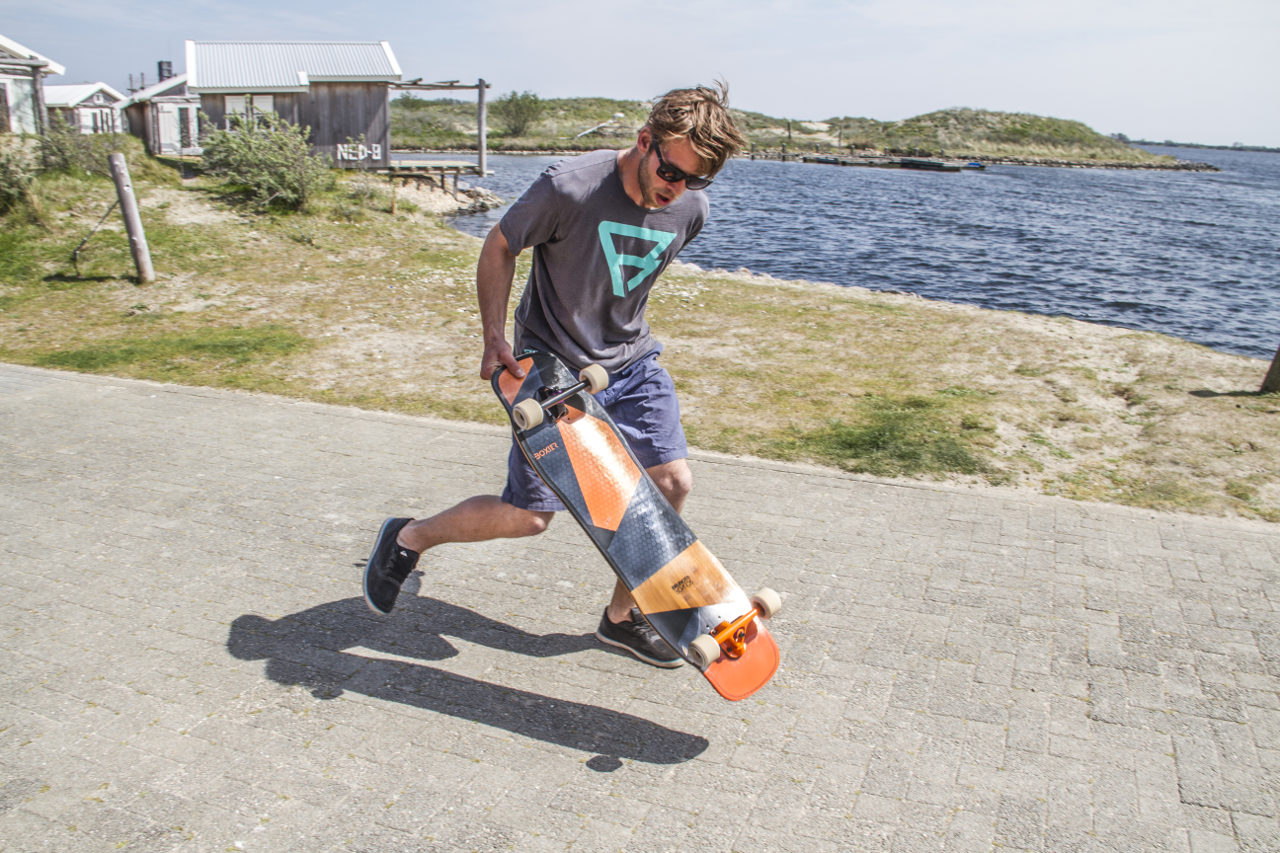 active lakeside Longboard rental